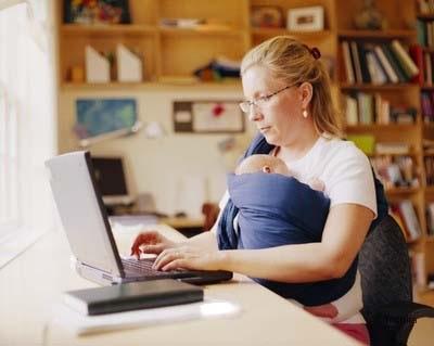 Top 12 joburi ce pot fi facute de acasa de catre mamici
